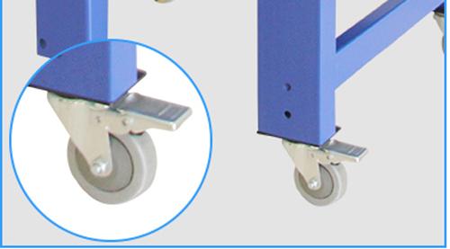 carton sealing machine  casters
