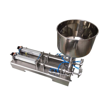 Two Head Ointment Filling Machine(horizontal type)
