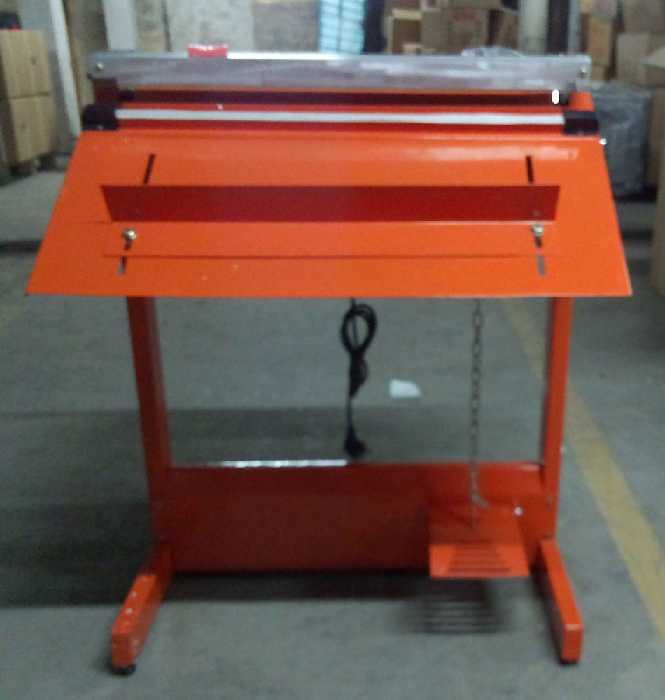 Pedal Sealer Machine with cutter and film roller