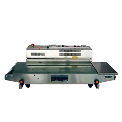 Horizontal ink printing sealing machine (wide conveyor protective type) FRM-980WK